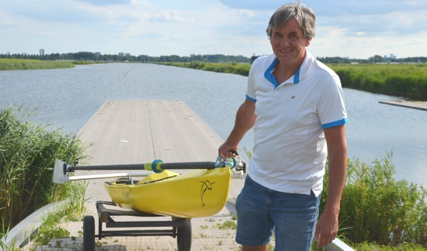 De Volans-boot, ontwikkeld door Cees van Bladel, is speciaal ontworpen voor recreatieve roeiers.