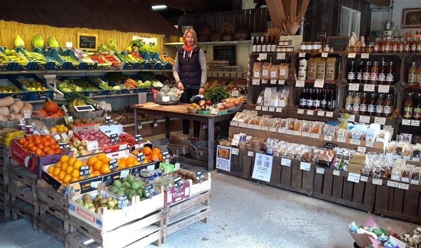In The Farm Shop zijn allerhande streekproducten te vinden.
