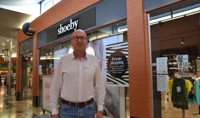 """Rob Schurink van Shoeby: """"Bij private shopping heb je de hele winkel voor jezelf."""""""