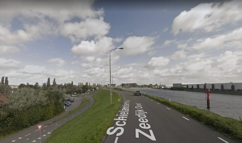 De Schielandse Hoge Zeedijk Oost in Moordrecht.