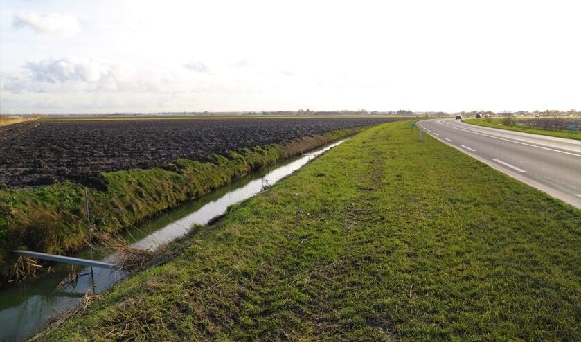 <p>De N219 bij Zevenhuizen.</p>