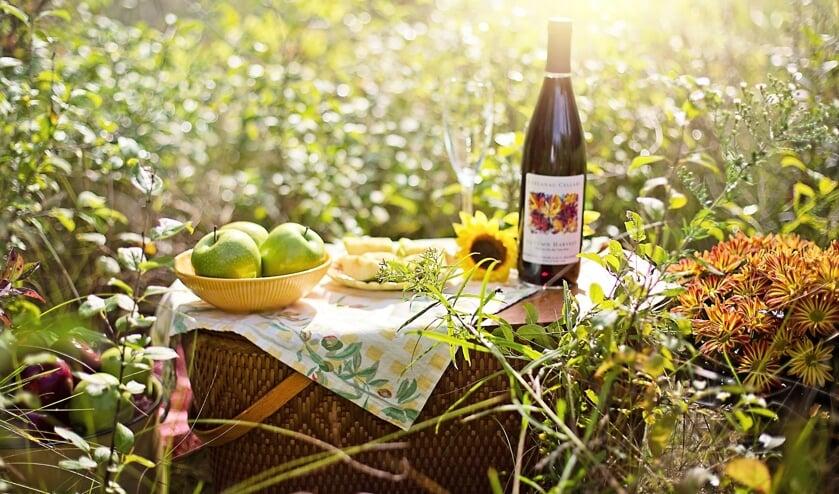 <p>Hapje, drankje en een prachtige omgeving; meer heb je niet nodig </p>