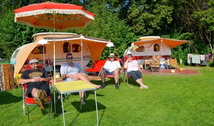 <p>De families Marcelis en Gerrits organiseerden het jaarlijkse kampeerweekend van Yvonne-liefhebbers.&nbsp;</p>