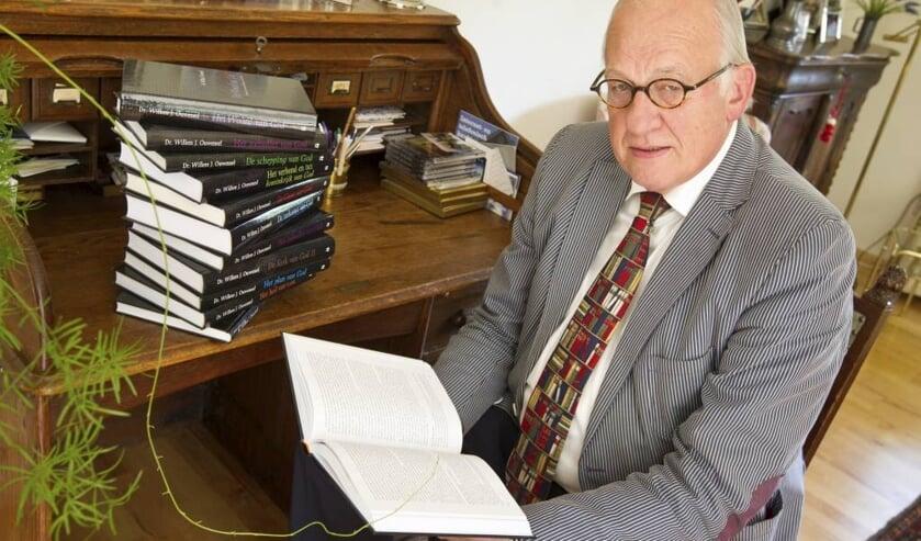 Dr. Willem Ouweneel. foto: Anton Dommerholt mei 2013