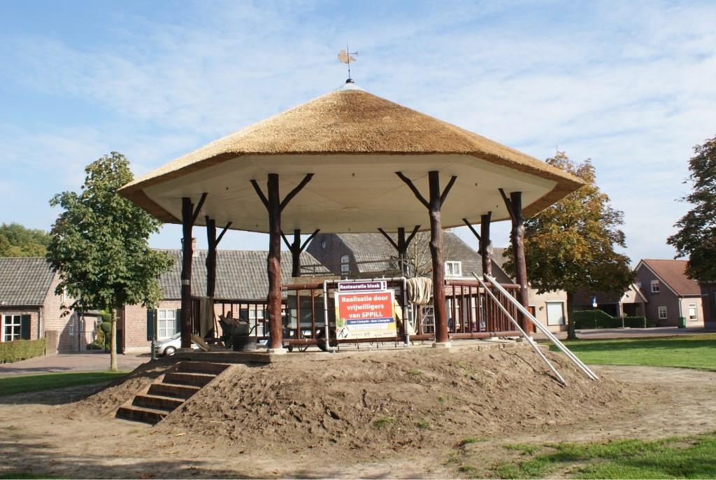 De gerestaureerde kiosk in Liempde Foto: SPPiLL © MooiBoxtel