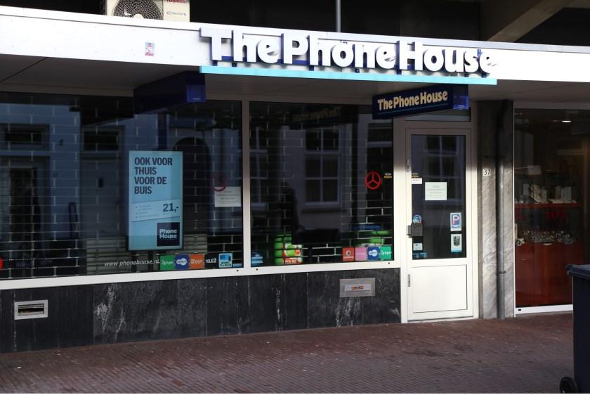 Het filiaal bleef donderdag dicht. Klanten werden doorverwezen naar de winkel in Best. (Foto: Sander van Kasteren)   | Fotonummer: 0879b8