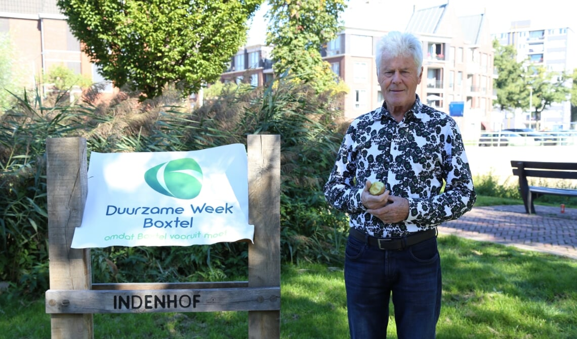 <p>David Andreae promoot de Duurzame Week Boxtel.</p>