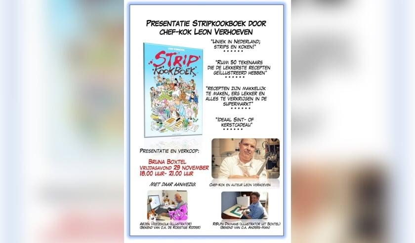 Boxtelse Striptekenaar Ralph Dikmans Presenteert Op 29
