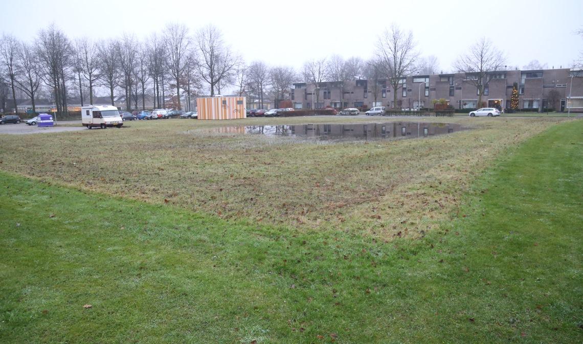 De plaats waar Princenlant IV gebouwd gaat worden.