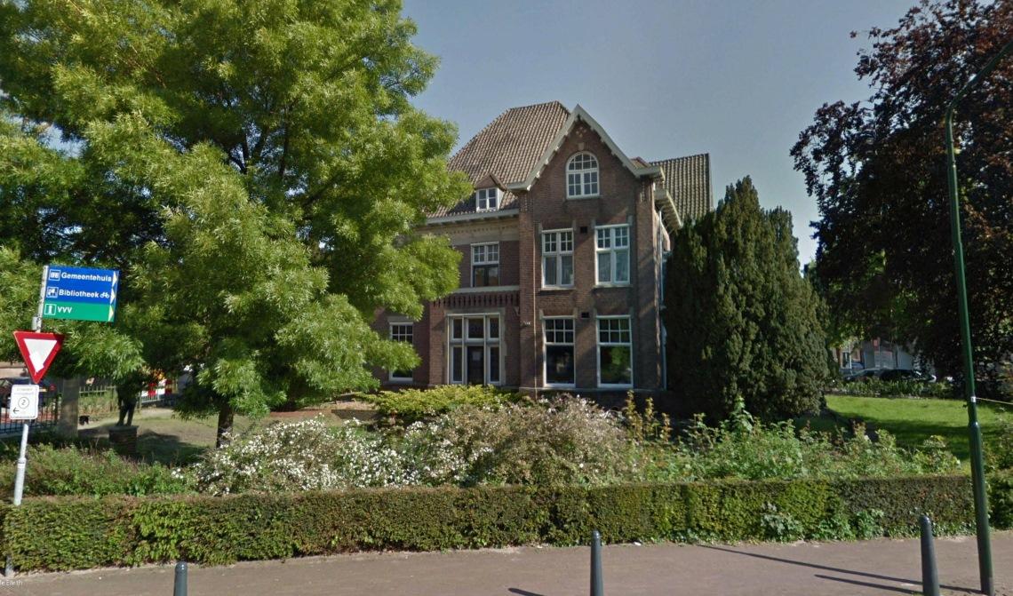 Een fraai stukje gemeentelijk vastgoed, villa Phaff, staat sowieso op de lijst om verkocht te worden.
