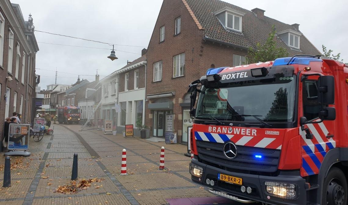 Bij de brand in de Stationsstraat vorige week raakte niemand gewond.