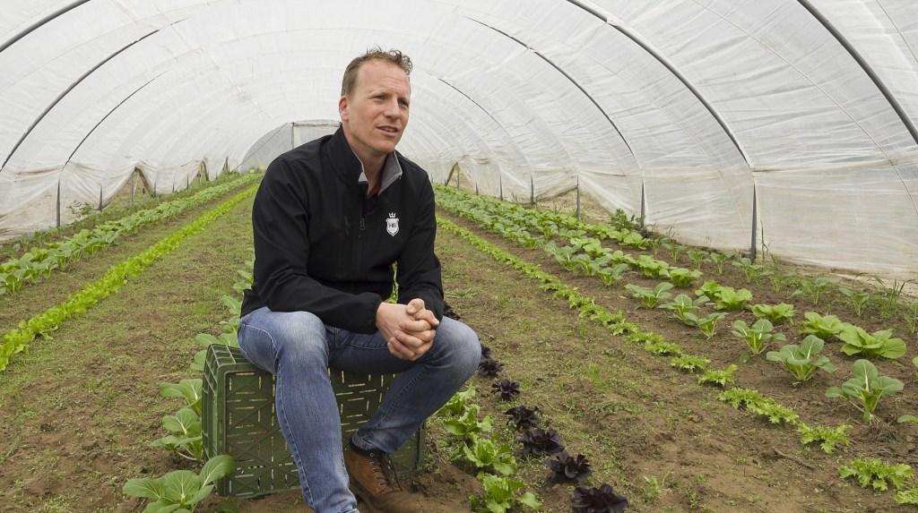 Geert van der Veer initiatiefnemer van Herenboeren NL Foto: Barend Hazeleger © MooiBoxtel