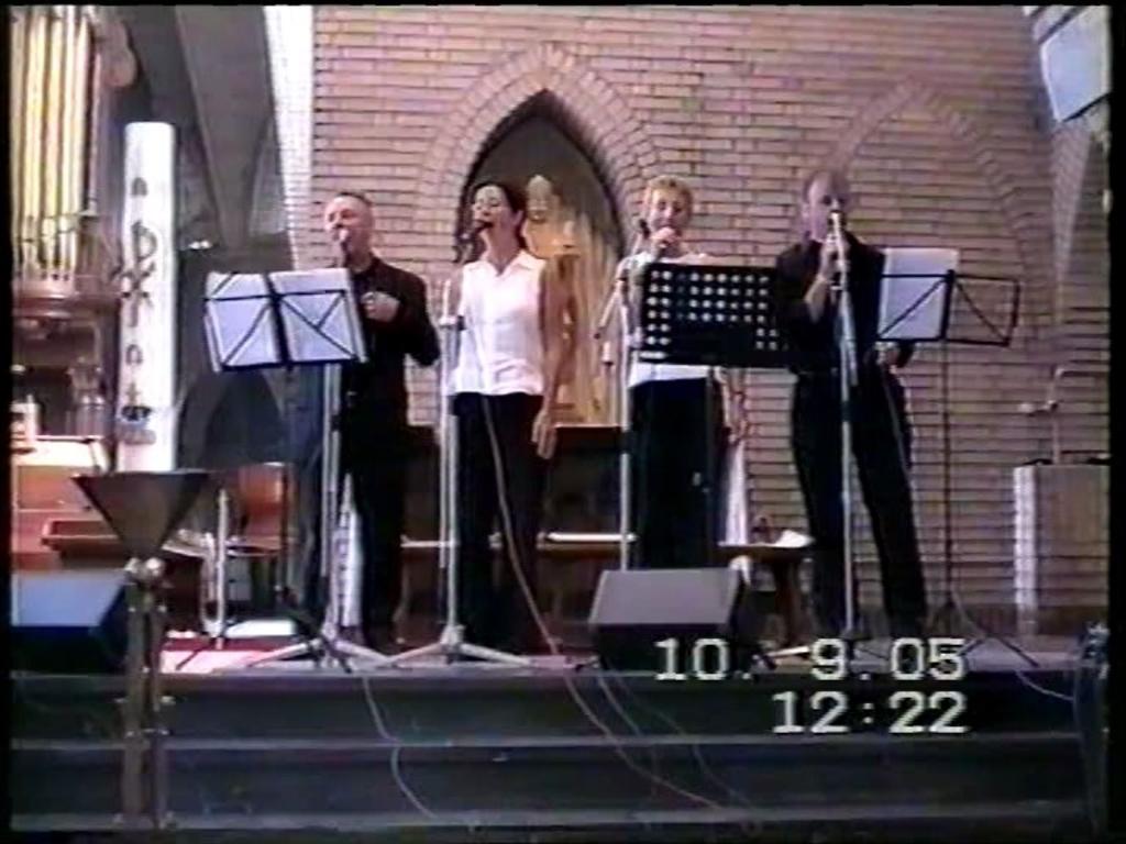Take 4, met van links naar rechts: Rini, Lenneke, Annet en Faas. Foto: Rini de Wit © MooiGestel