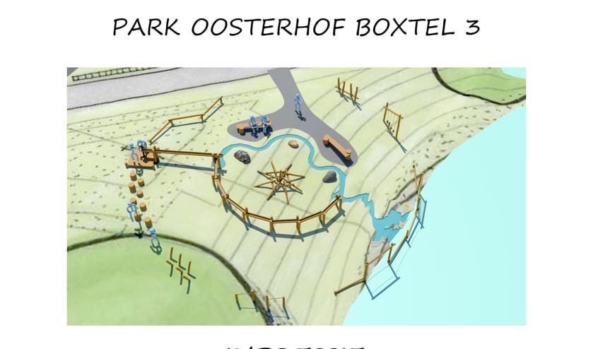 Een impressie van hoe de speeltuin eruit komt te zien. (Foto: Dolmans Landscaping Group)   | Fotonummer: 05aea8