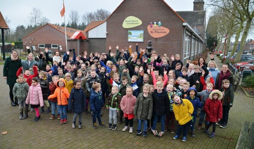 De leerlingen van de school anno 2020.   | Fotonummer: f59d5f