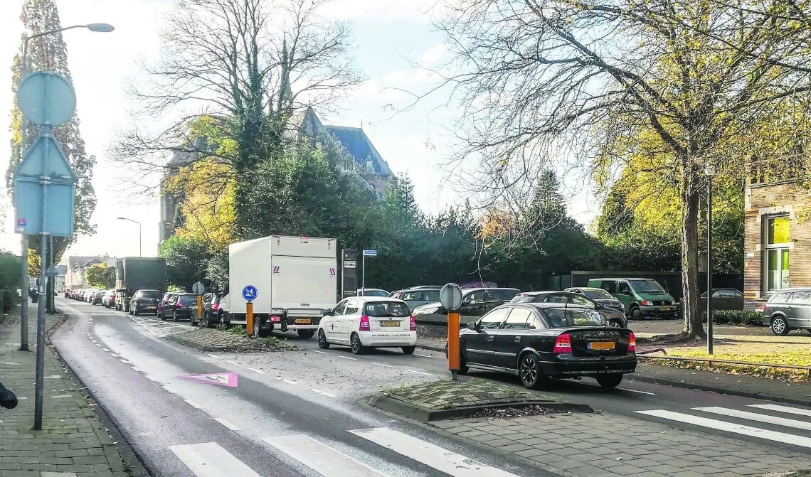 <p>Er rijdt veel verkeer door de Baroniestraat, waardoor sommige woningen in aanmerking komen voor geluidssanering.</p>