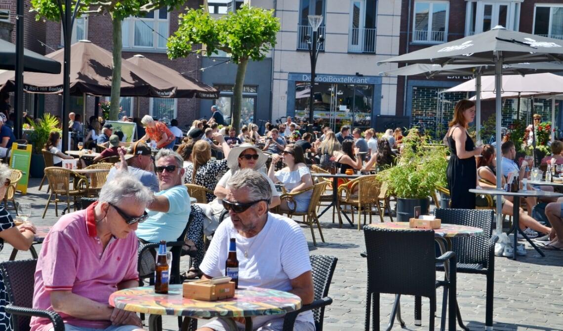Volle terrassen midden op de Boxtelse Markt behoren in ieder geval tot 20 oktober tot het verleden.