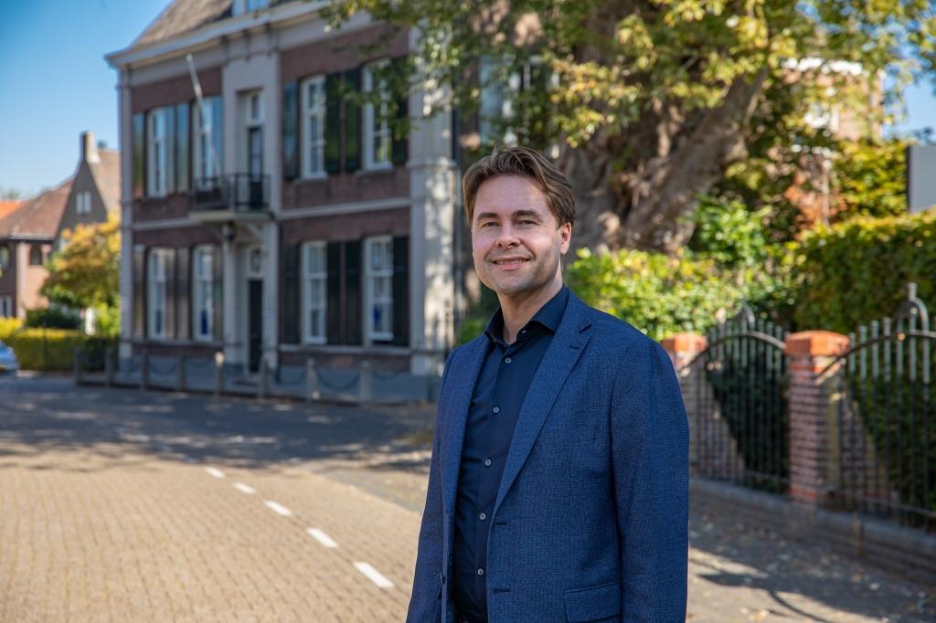 Michiel van der Ven. (Foto: Van der Ven Makelaardij) Foto: Van der Ven Makelaardij © MooiBoxtel