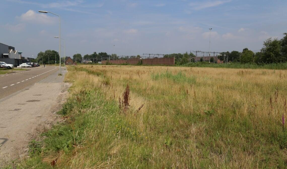 <p>Het terrein waar voorheen Houthandel Langenhuizen gevestigd was is onlangs verkocht aan twee Boxtelse ondernemers. (Foto: Sander van Kasteren)</p>