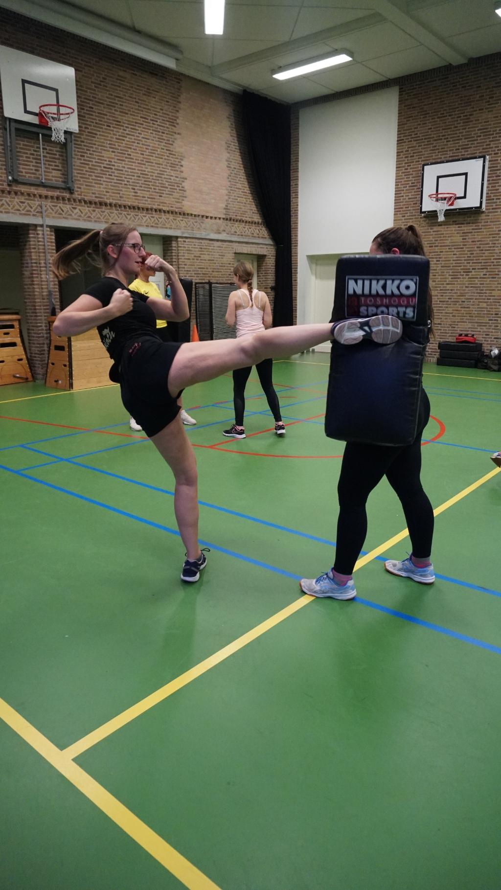 Pleunie van Brunschot tijdens de training. Foto: Sander van Kasteren © MooiBoxtel