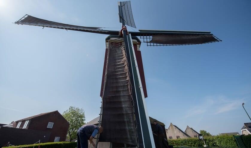 Voor de standerdmolen in Sint-Annaland is er 34.613 euro beschikbaar.