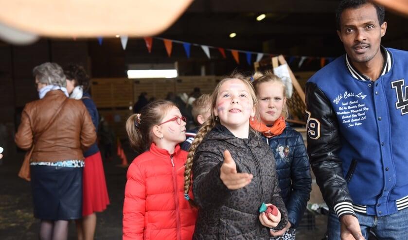 Spelletjes in Sint-Annaland.
