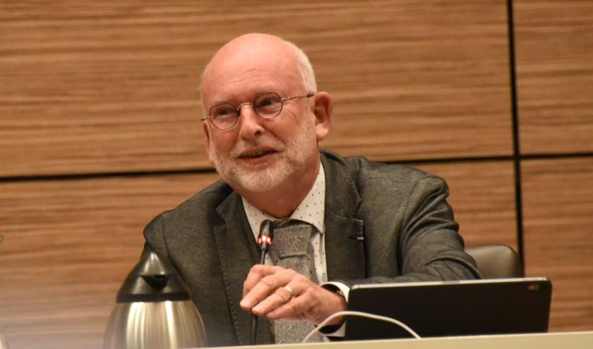Wethouder Jan Harmsen.