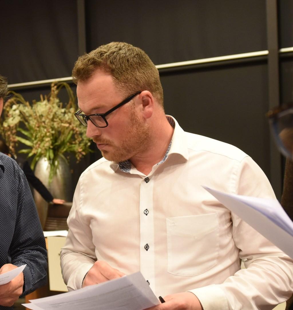 Raadslid Corniel van Leeuwen.  © Eendrachtbode
