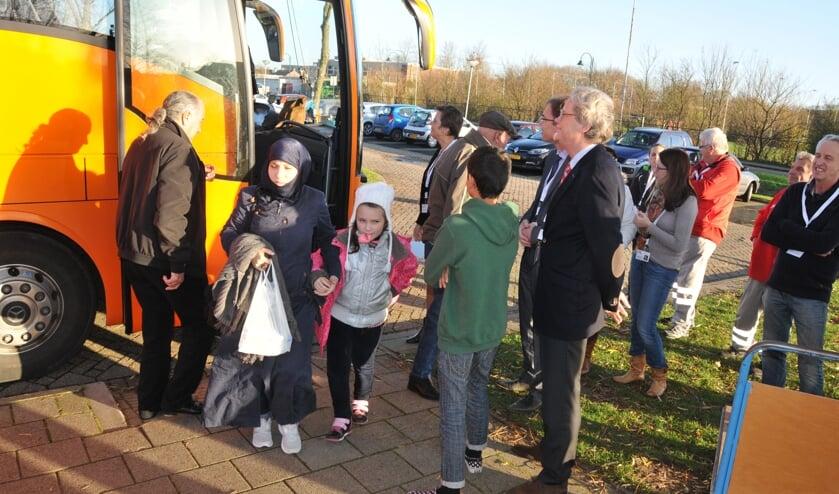 Enkele jaren geleden zijn in Meulvliet korte tijd een aantal vluchtelingen opgevangen.