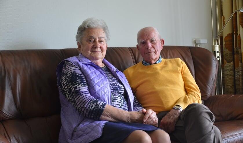 <p>Jos en Nana Oostdijk waren maandag 65 jaar getrouwd.</p>