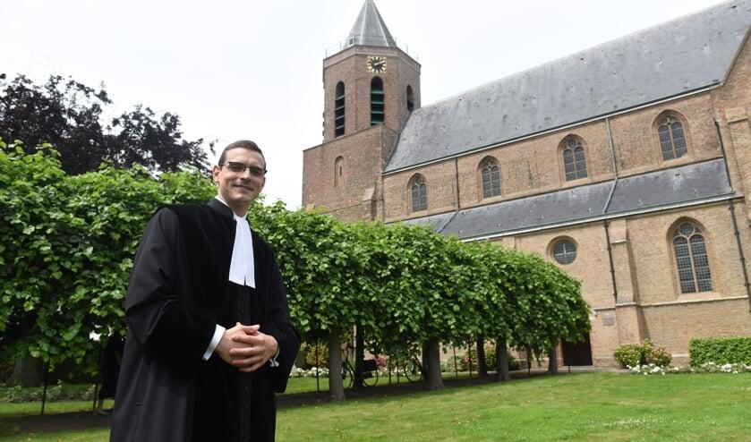 <p>Ds. Victor van der Meer is de nieuwe predikant van de Hersteld Hervormde Gemeente in Poortvliet</p>