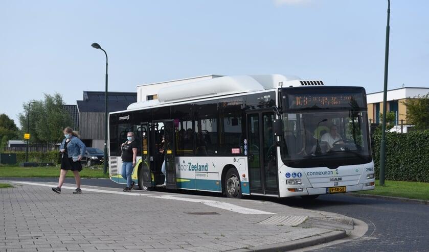 <p>Tijdens de vakanties zijn de lijnbussen verre van vol.&nbsp;</p>