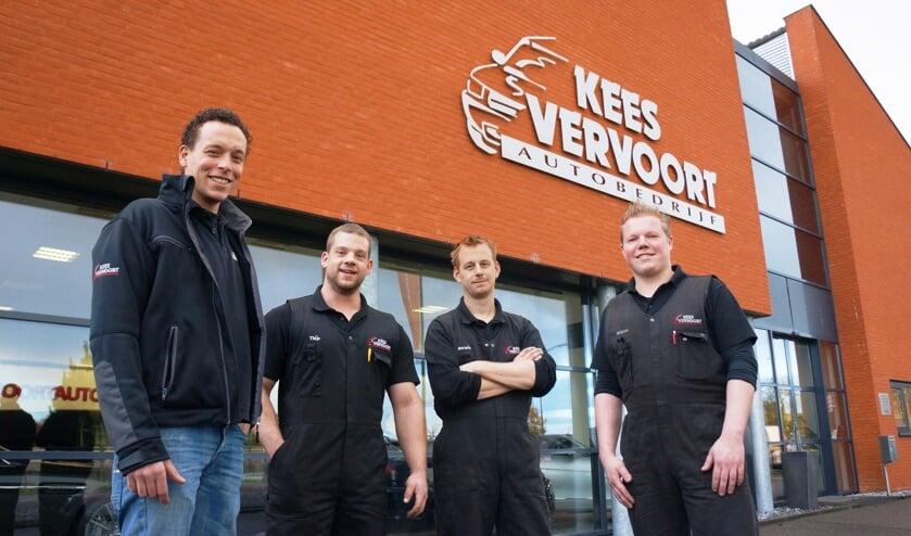 v.l.n.r.: Geert, Thijs, Gerwin en William.   | Fotonummer: c384b2