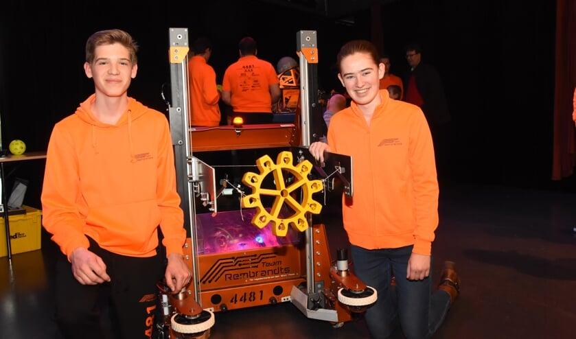 Neef en nicht, Tim (l) en Lara (r) Hulsen zijn twee Rooise nieuwkomers in het Team Rembrandts   | Fotonummer: c44d0d