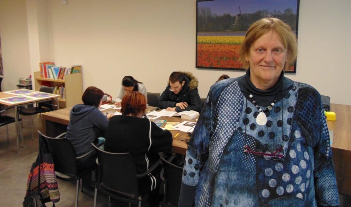 Mia van Boxtel, initiatiefneemster Taalwerkplaats Rooi.