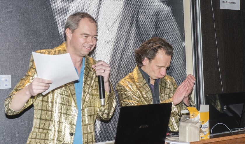 Twee showmasters van De Natte Plek.   | Fotonummer: 766746