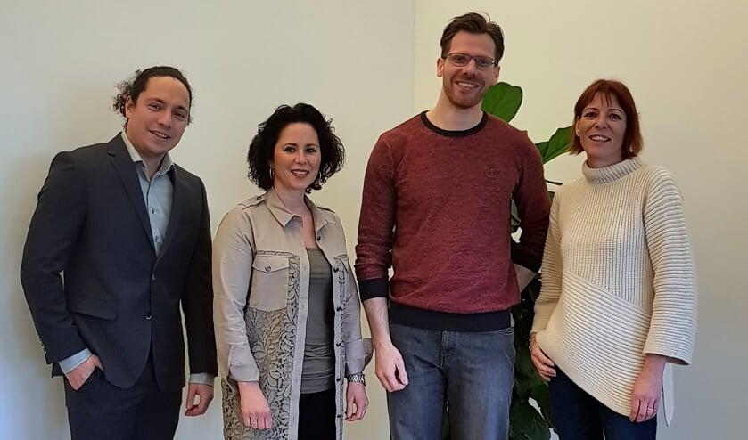 Rebeca van Kaathoven, Pim Sittrop, Rien Wenselaar en Danielle Wagenmaker.    | Fotonummer: 12cdaf