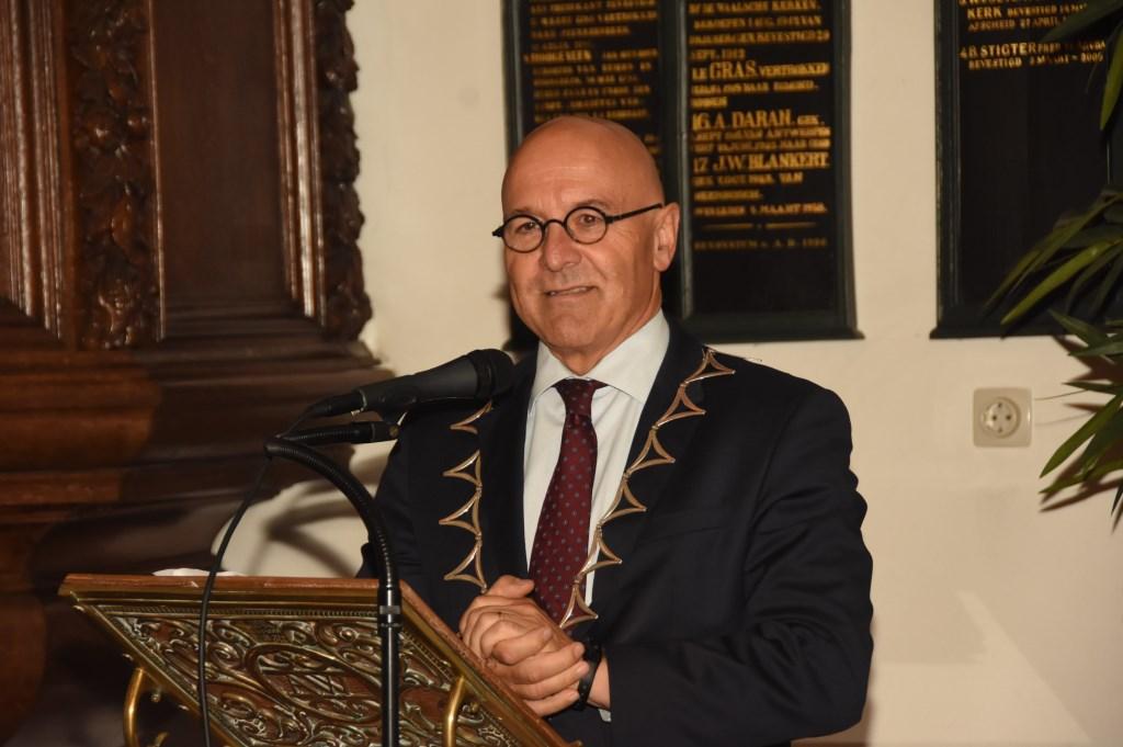 Burgemeester Kees van Rooij Foto: Hans van den Wijngaard © MooiRooi