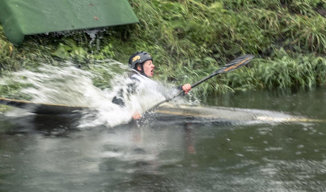 Waterhappen!