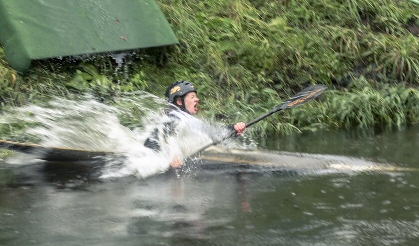 Waterhappen!     Fotonummer: daa787