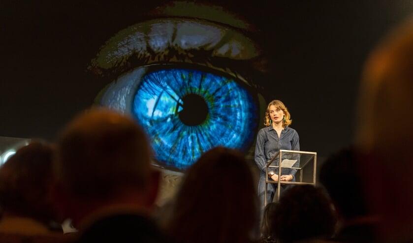 De talk van Lotte Klaver was zeer ingrijpend.   | Fotonummer: 016880