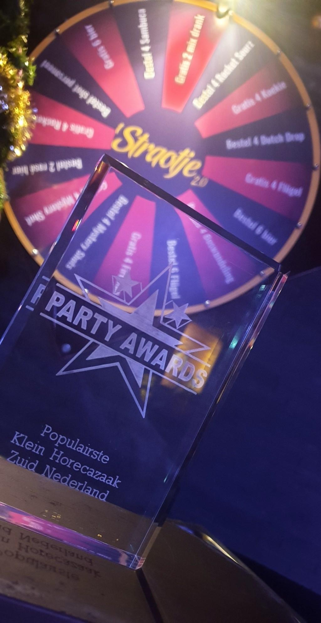 Deze award werd binnengesleept.  © MooiRooi