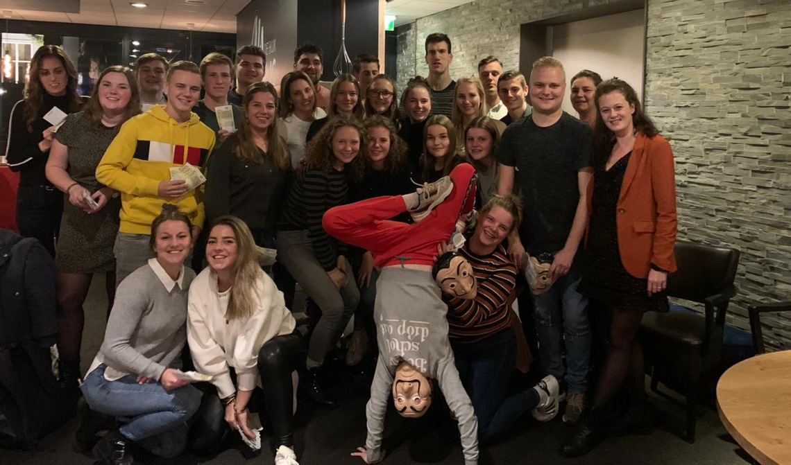 Het team van restaurant De Beleving.