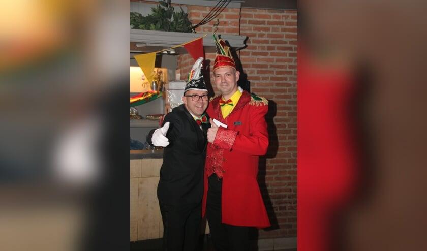 President Frank van den Brand en voorzitter Leon van Rooij (r)   | Fotonummer: d7c714