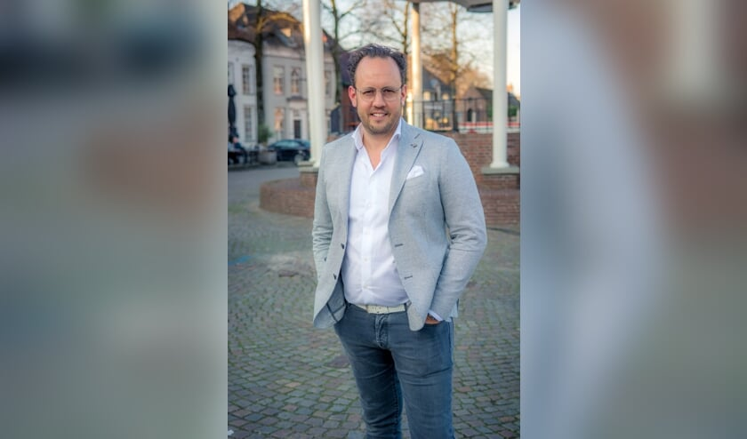 Bram Seegers, bestuurslid N!SO Centrum en centrumondernemer aan de Markt. Bram is tijdelijk aanspreekpunt voor werkgroep Markt i.v.m. verlof van Sietske Hubens-van de Loo, voorzitter N!SO.   | Fotonummer: f7e41f