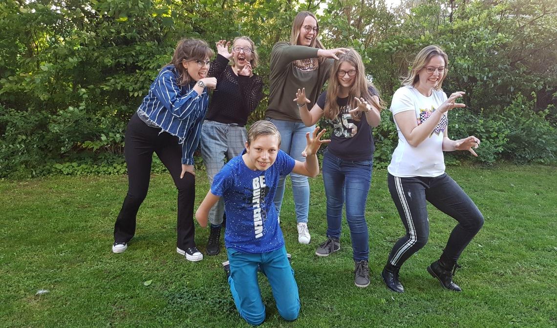De jongerengroep van 't Roois theater