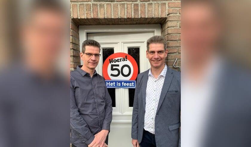 De gebroeders Van Lieshout.     Fotonummer: 4304da