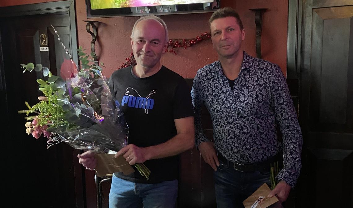 Marco van Esch (l) en Willy Brus.