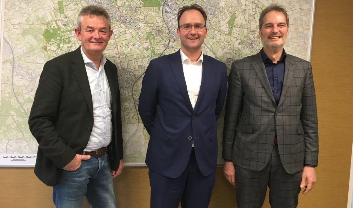 De wethouders van Boekel, Bernheze en Meierijstad
