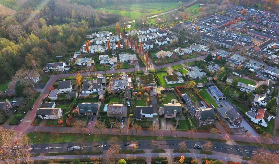 <p>De wijk Dommelrode</p>